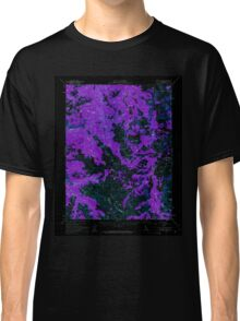 USGS TOPO Map California CA Sonora Pass 301746 1956 62500 geo Inverted Classic T-Shirt
