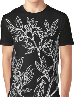 Britton And Brown Illustrated flora of the northern states and Canada 1562 Vaccinium myrtilloides Graphic T-Shirt