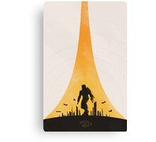 Earth City Canvas Print