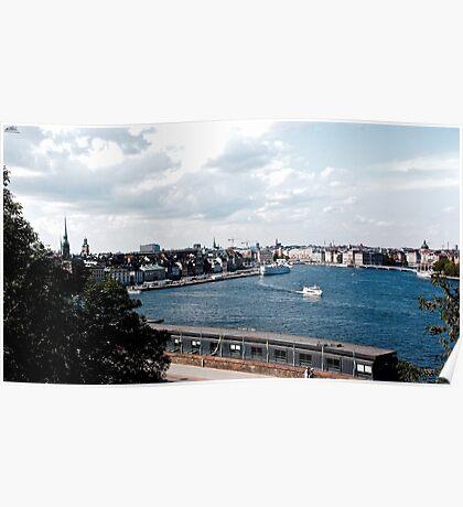 Stockholm Views Poster