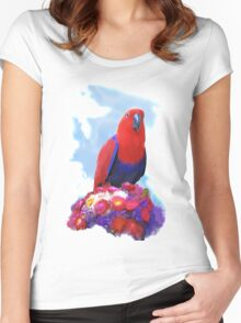 Eclectus Love Women's Fitted Scoop T-Shirt