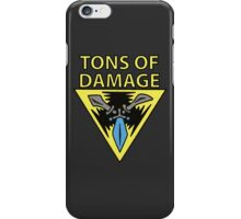 Trinity Force - TONS OF DAMAGE! iPhone Case/Skin