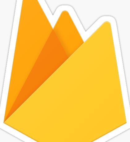 Firebase Logo 2017 Sticker