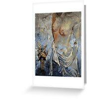 Nude 454111 Greeting Card