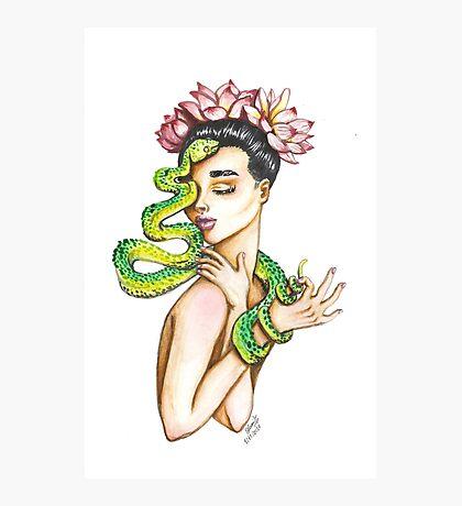 Kundalini Watercolor painting Photographic Print