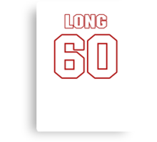 NFL Player Spencer Long sixty 60 Canvas Print