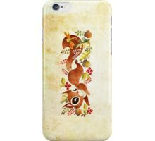 Playful Squirrel iPhone Case/Skin