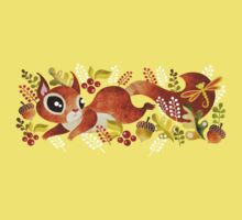 Playful Squirrel Kids Clothes