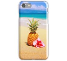 Pineapple Beach Days iPhone Case/Skin
