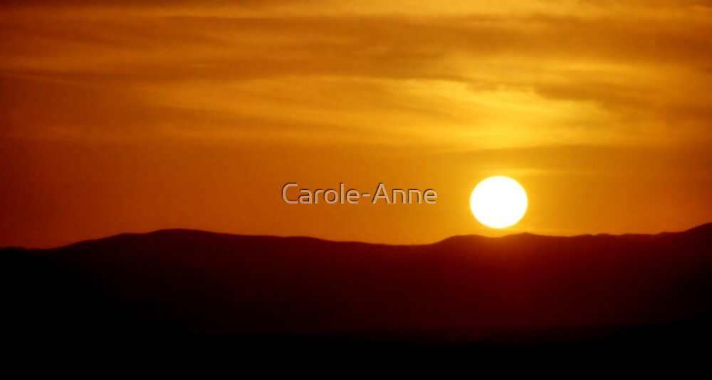 Naukluft Mountains Sunset by Carole-Anne