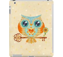 Owl's Summer Love Letters iPad Case/Skin