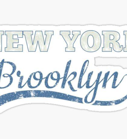 Brooklyn New York, brklyn Sticker