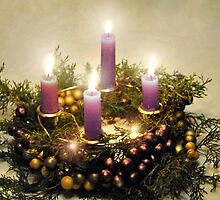 Advent Wreath  by MarjorieB