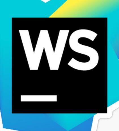 WebStorm Sticker