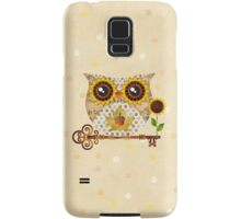 Owl's Autumn Song Samsung Galaxy Case/Skin