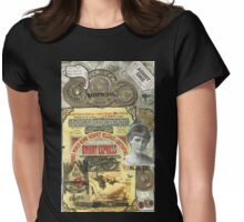 All Aboard!(The Orient Express) Womens Fitted T-Shirt