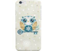 Winter Wonderland Owl iPhone Case/Skin