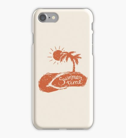 Summer Time! iPhone Case/Skin