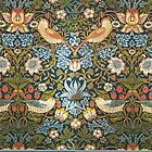 William Morris Pattern Birds and Flowers by Greenbaby