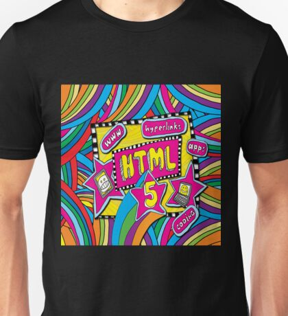 HTML5 - COMPUTER CODING Unisex T-Shirt