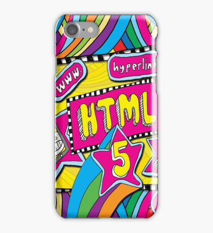 HTML5 - COMPUTER CODING iPhone Case/Skin