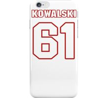 NFL Player Kevin Kowalski sixtyone 61 iPhone Case/Skin