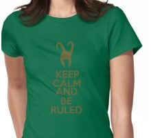 Keep Calm and Be Ruled Womens Fitted T-Shirt