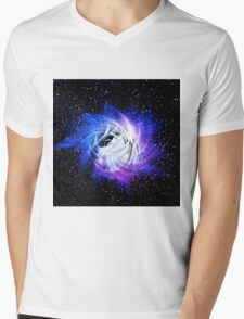 A Rose Became A Star Became A Rose Mens V-Neck T-Shirt