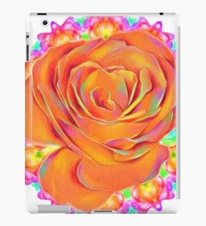 Psychedelic Rose Mandala  iPad Case/Skin