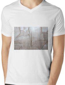 Granite Pattern  Mens V-Neck T-Shirt