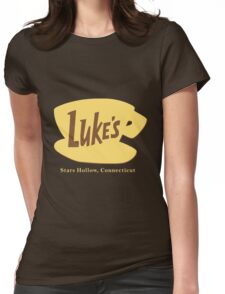 The Lukes Diner Womens Fitted T-Shirt