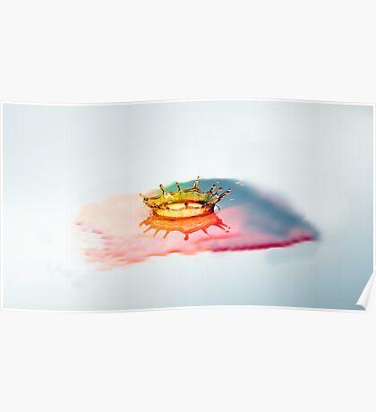 Rainbow Splash Poster