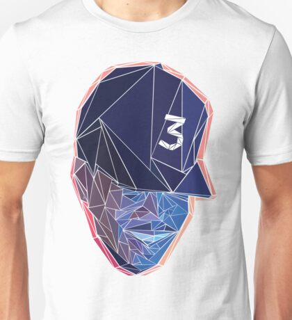 Chance the Rapper - Coloring Book - Triangles with Background Unisex T-Shirt