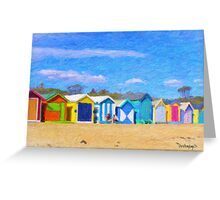 Summer at Brighton Greeting Card