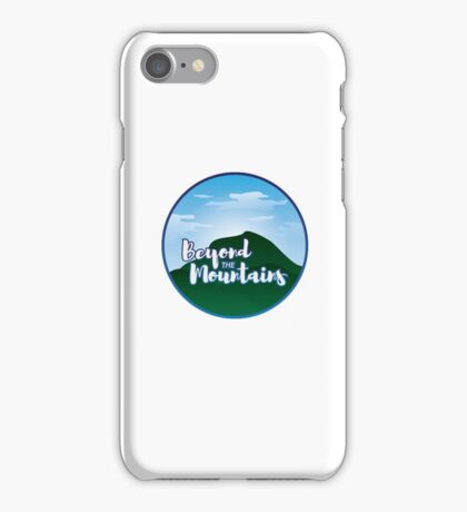 Beyond the Mountains iPhone Case/Skin