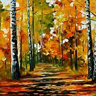 Fiesta Of Birches — Buy Now Link - www.etsy.com/listing/209793652 by Leonid  Afremov