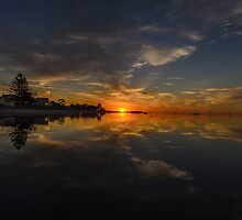 A reflective moment. by Frank Smith