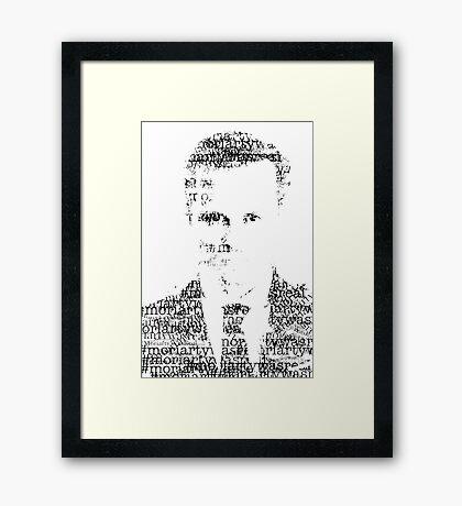 james moriarty Framed Print