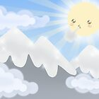 Cute Sky 30- Mountains by zeecyanide