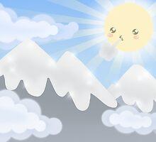 Cute Sky 30- Mountains by zeecyanide