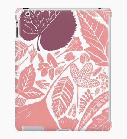 Pink forest iPad Case/Skin