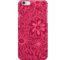 Seamless texture with flowers iPhone Case/Skin
