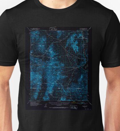 USGS TOPO Map California CA Shoshone 301703 1951 62500 geo Inverted Unisex T-Shirt