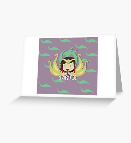 League of Legends - KARMA Greeting Card