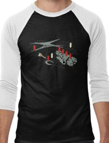 You Sunk My Battlestar Men's Baseball ¾ T-Shirt