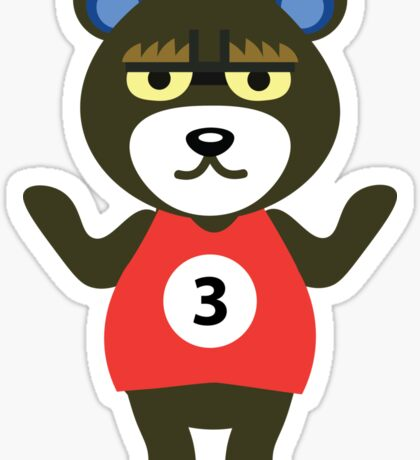 Grizzly - Animal Crossing Sticker
