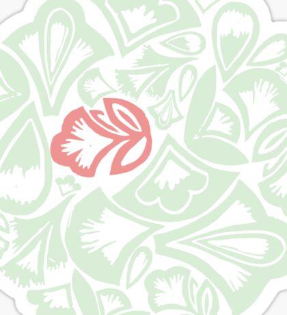 Archibald - the green meadow elf Sticker