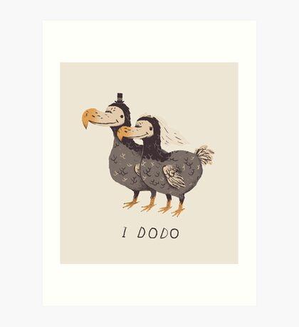 i dodo Art Print