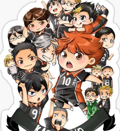 Team Karasuno Sticker