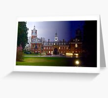 Night and Day College Greeting Card